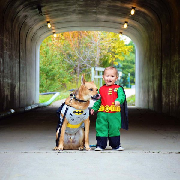 12 Adorable Pinterest Dog And Kid Halloween Costumes Ba Ba Bling Blog