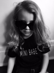 NEW BBBS015 - mini babe tee take